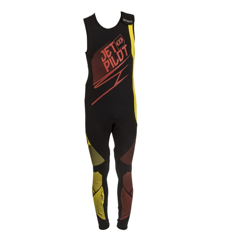 JETPILOT MALAYSIA MATRIX 3 WETSUIT RED YELLOW